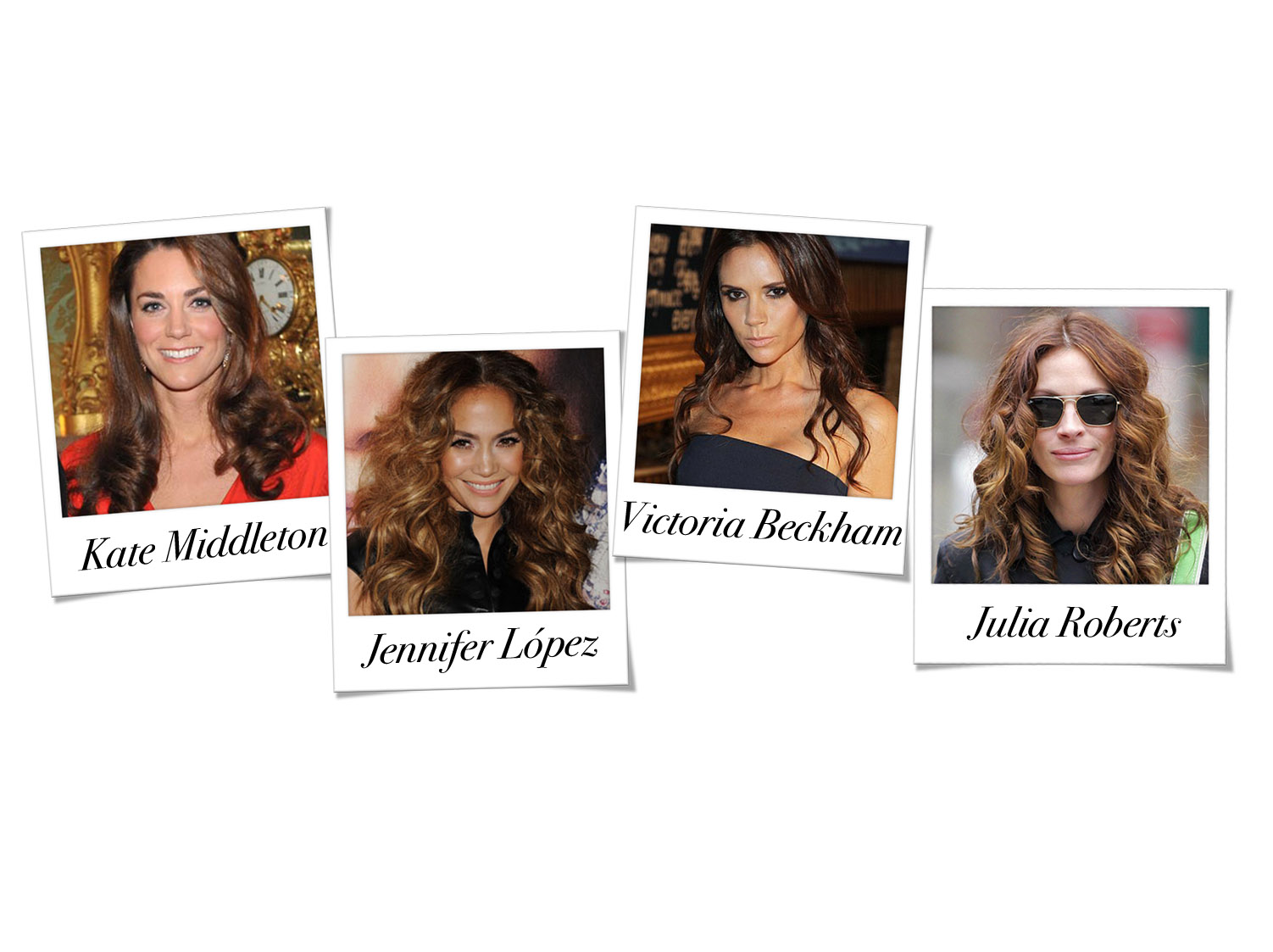 new curly celebs